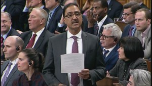 Conservative MP's laugh after Amarjeet Sohi mentions his past employment as a bus driver